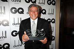 TONY BENNETT at the GQ Men of the Year Awards held at the Royal Opera House, London on 2nd September 2008.<br /> <br /> NON EXCLUSIVE - WORLD RIGHTS