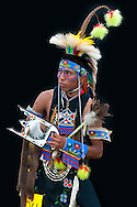 Tristan Boise,Warm Springs tribe,Warm Springs Pow Wow,Oregon,USA.(Model release 0103)