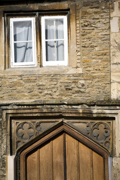 Medieval doorway of the oldest dwelling in Lechlade