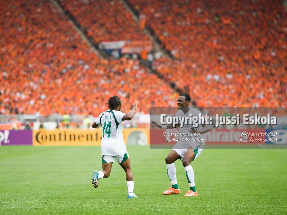 Holland - Ivory Coast, World Cup, Stuttgart , 16 June 2006.&amp;#xA;Photo: Jussi Eskola<br />