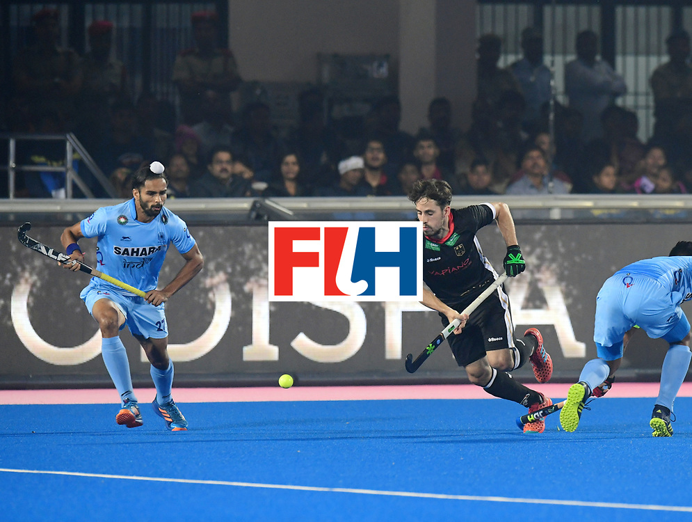 Odisha Men's Hockey World League Final Bhubaneswar 2017<br /> Match id:10<br /> India v Germany<br /> Foto: Akashdeep Singh (Ind) <br /> WORLDSPORTPICS COPYRIGHT FRANK UIJLENBROEK
