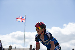 Eileen Roe (GBR) of Team WNT rides mid-pack during Stage 1 of the OVO Energy Women's Tour - a 147.5 km road race, between Daventry and Kettering on June 7, 2017, in Northamptonshire, United Kingdom. (Photo by Balint Hamvas/Velofocus.com)