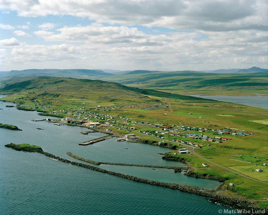 Vopnafjörður séð til suðvesturs, Vopnafjarðarhreppur / Vopnafjordur viewing southwest, Vopnafjardarhreppur.