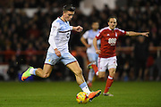 Aston Villa midfielder Jack Grealish (40) during the EFL Sky Bet Championship match between Nottingham Forest and Aston Villa at the City Ground, Nottingham, England on 4 February 2017. Photo by Jon Hobley.