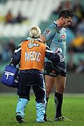 Adam Ashley-Cooper with some blood. Waratahs v Hurricanes. 2012 Super Rugby round 15 match. Allianz Stadium, Sydney Australia on Saturday 2 June 2012. Photo: Clay Cross / photosport.co.nz