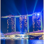 Singapore Night Triptych