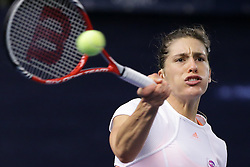 16.10.2013, CK Sports Center, Kockelscheuer, LUX, WTA, BGL BNP Paribas Luxemburg Open, im Bild, Andrea Petkovic (Deutschland - GER) // during the WTA BGL BNP Paribas Luxembourg Open at the CK Sports Center at Kockelscheuer, Luxembourg on 2013/10/16. EXPA Pictures © 2013, PhotoCredit: EXPA/ Eibner/ Gerry Schmit<br /> <br /> ***** ATTENTION - OUT OF GER *****
