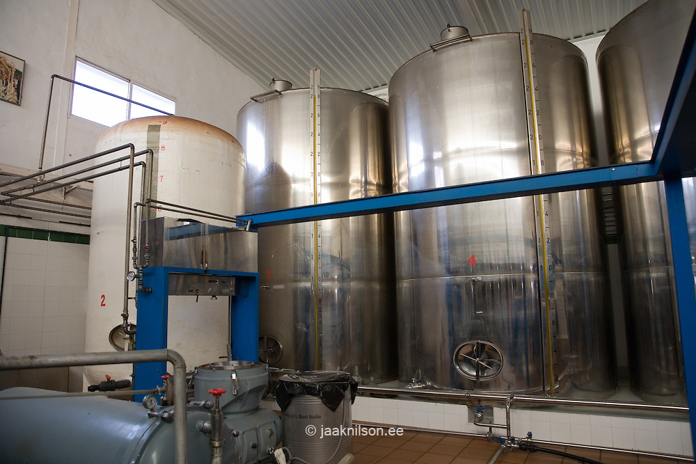 Tank for Olive Oil, Andalucia, Spain