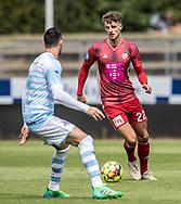 Magnus Westergaard (Lyngby Boldklub) under træningskampen mellem Lyngby Boldklub og FC Helsingør den 3. juli 2019 på Lyngby Stadion (Foto: Claus Birch)