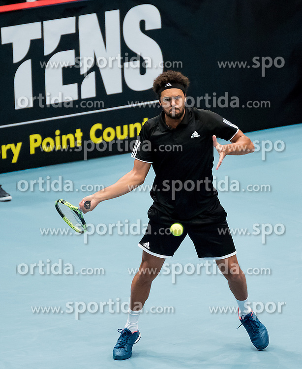 23.10.2016, Stadthalle, Wien, AUT, ATP Tour, Erste Bank Open, Tie Break Tens, Halbfinale, im Bild Jo Wilfried Tsonga (FRA) // Jo Wilfried Tsonga of France during the semifinal match of the Tie Break Tens of Erste Bank Open of ATP Tour at the Stadthalle in Vienna, Austria on 2016/10/23. EXPA Pictures © 2016, PhotoCredit: EXPA/ Sebastian Pucher