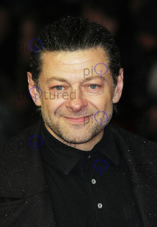 LONDON - OCTOBER 21: Andy Serkis attended the European Film Premiere of 'Great Expectations' at the Odeon Leicester Square, London, UK. October 21, 2012. (Photo by Richard Goldschmidt)