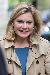 Downing Street, London, November 15th 2016.  Education Secretary Justine Greening arrives in Downing Street for the weekly cabinet meeting.
