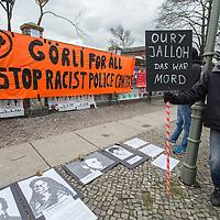2016/03/15 Berlin | Politik | Kundgebung gegen rassistische Polizeigewalt