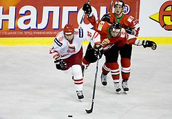 PROSZKIEWICZ Tomasz of Poland at IIHF Ice-hockey World Championships Division I Group B match between National teams of Hungary and Poland, on April 18, 2010, in Tivoli hall, Ljubljana, Slovenia.  (Photo by Vid Ponikvar / Sportida)