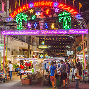 THA/Koh Samui/20160804 - Vakantie Thailand 2016 Koh Samui, Nightmarkrt Lamai Beach