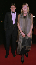 MR & MRS SIMON SLATER, she was Kate Menzies a good friend of Diana, Princess of Wales, at an exhibition in London on 1st October 1997.MBU 57