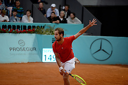 May 6, 2019 - Madrid, Spain - Richard Gasquet (FRA) in his match against Alejandro Davidovich Fokina (SPA) during day three of the Mutua Madrid Open at La Caja Magica in Madrid on 6th May, 2019. (Credit Image: © Juan Carlos Lucas/NurPhoto via ZUMA Press)