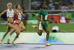 Aug 18, 2016 - Rio de Janeiro, Brazil - SEMENYA CASTER leads in the Women's 800m Semifinal 3 at Olympic Stadium during the Rio 2016 Summer Olympic Games. (Credit Image: © Scott Mc Kiernan/ZUMA Wire)