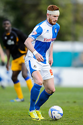 Matt Harrold (ENG) of Bristol Rovers in action - Photo mandatory by-line: Rogan Thomson/JMP - 07966 386802 - 03/05/2014 - SPORT - FOOTBALL - Memorial Stadium, Bristol - Bristol Rovers v Mansfield Town - Sky Bet League Two. (Note: Mansfield are wearing a Rovers spare kit having forgotten their own).
