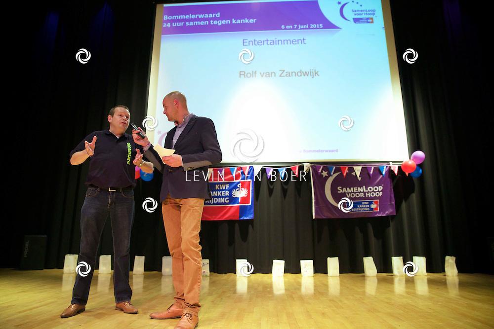KERKDRIEL - De kick-off van de Samenloop Voor Hoop 2015. FOTO LEVIN DEN BOER - PERSFOTO.NU