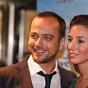 NLD/Den Bosch/20141123- Premiere Musical The Sound of Music, Geert Hoes en partner Bonny Hooghof