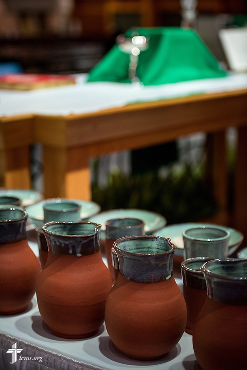 The Sacrament is set for Opening Divine Service of the 66th Regular Convention of The Lutheran Church–Missouri Synod on Saturday, July 9, 2016, at the Wisconsin Center in Milwaukee. LCMS/Michael Schuermann