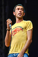 Rick Witter, Shed Seven / V Festival 2008, Hylands Park, Chelmsford, Essex, Britain - August 2008.