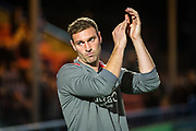 Lincoln City Caretaker Manager Jamie McCombe before the EFL Sky Bet League 1 match between Rochdale and Lincoln City at the Crown Oil Arena, Rochdale, England on 17 September 2019.