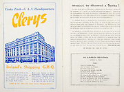All Ireland Senior Hurling Championship Final,.01.09.1957, 09.01.1957, 1st September 1957,.Minor Kilkenny v Tipperary, .Senior Kilkenny v Waterford, Kilkenny 4-10.Waterford 3-12,..Advertisement, Clerys,