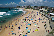 Summer Day at the beach, Australia, Bar Beach, Newcastle, New South Wales