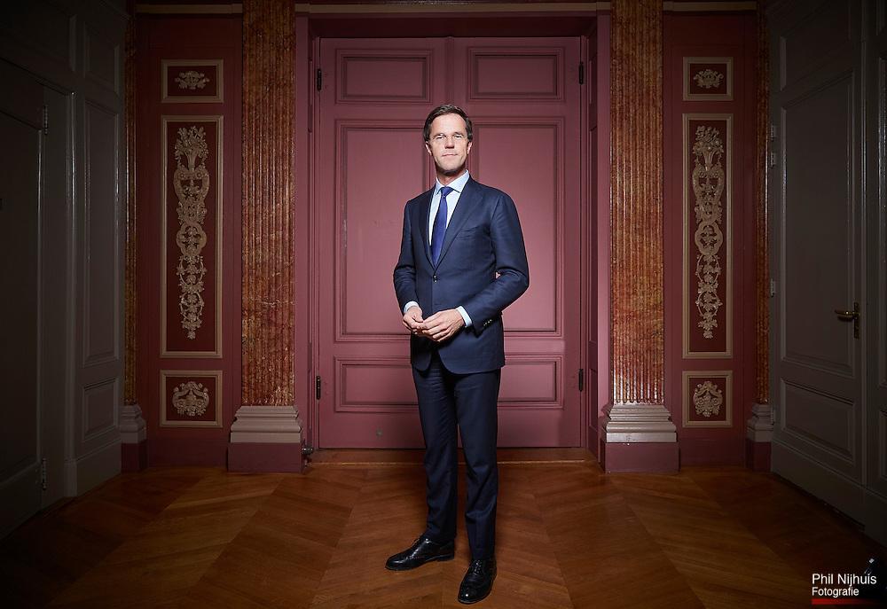Den Haag , 4  december 2014 - Portret Premier Mark Rutte.<br /> Foto: Phil Nijhuis