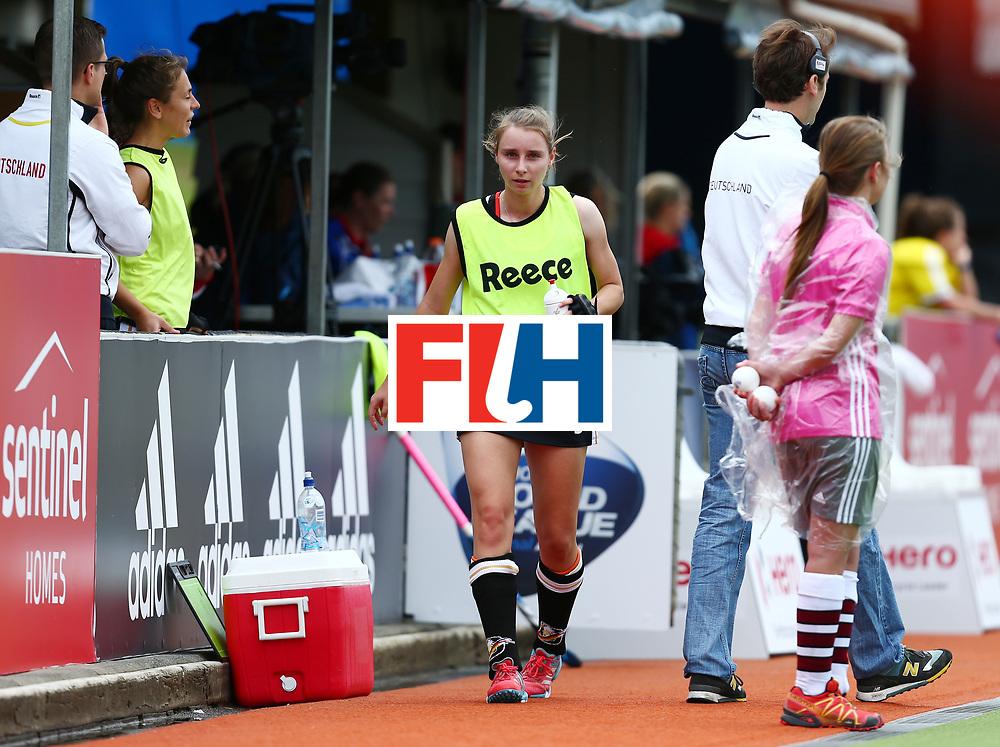 New Zealand, Auckland - 18/11/17  <br /> Sentinel Homes Women&rsquo;s Hockey World League Final<br /> Harbour Hockey Stadium<br /> Copyrigth: Worldsportpics, Rodrigo Jaramillo<br /> Match ID: 10293 - ENG vs GER<br /> Photo: (9) GR&Auml;VE Elisa