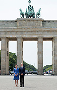 Kate Middleton & Prince William At Brandenburg Gate
