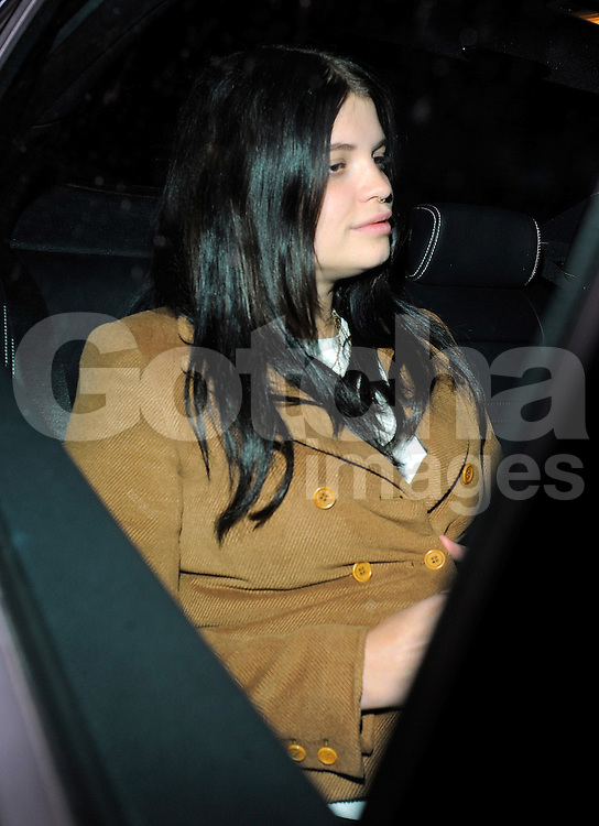 Pixie Geldof visits Daisy Lowe in north London, UK. 29/05/2015<br />BYLINE MUST READ : GOTCHAIMAGES.COM<br /><br />Copyright by &copy; Gotcha Images Ltd. All rights reserved.<br />Usage of this image is conditional upon the acceptance <br />of Gotcha Images Ltd, terms and conditions available at<br />www.gotchaimages.com