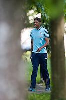 Raphael Varane - 05.06.2015 - Conference de Presse -Equipe de France<br />Photo : Andre Ferreira / Icon Sport