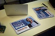 Inaugurazione della sede del comitato elettorale di Roberto Giachetti, candidato sindaco a Roma per il Partito Democratico, Roma 14 Aprile 2016. Christian Mantuano / OneShot