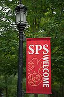 St Paul's School Move In Day.  ©2015 Karen Bobotas Photographer