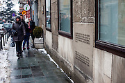 Museum of the Assassination of Franz Ferdinand. It was on this very place, on June 28, 1914, a 19-year-old named Gavrilo Princip assassinated the Austrian Archduke Franz Ferdinand and his wife, Sofia, setting in motion a chain of events that led to the First World War.
