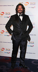 LAURENCE LLEWELYN BOWEN arrives for the Radio Academy Awards, London, United Kingdom. Monday, 12th May 2014. Picture by i-Images