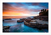 Long exposure of a magical sunset at Avalon [Avalon, NSW, Australia]<br />