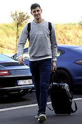 October 9, 2018 - Brussels, Belgium - Thibaut Courtois goalkeeper of Belgium (Credit Image: © Panoramic via ZUMA Press)