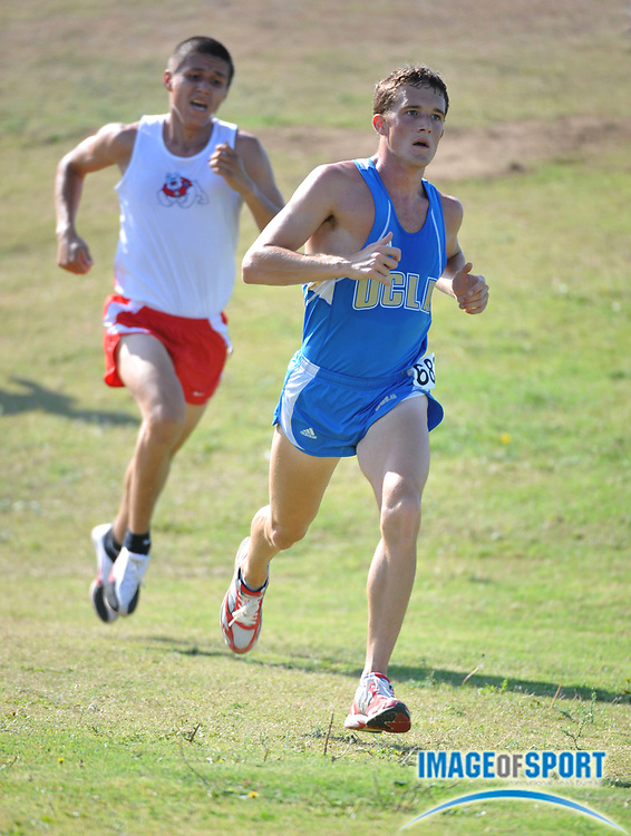 """Sep 6, 2008; Irvine, CA, USA; Alex Crabill of UCLA was sixth in the mens """"A"""" race in 25:37 in the UC Irvine Invitational at the Anteater Recreation Center Fields."""