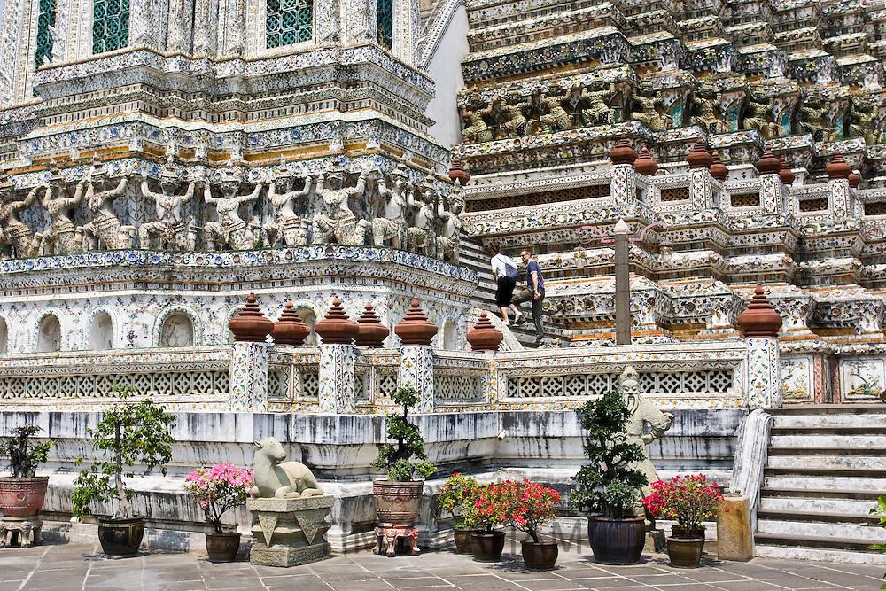 Wat Arun, Temple of the Dawn, Bangkok, Thailand