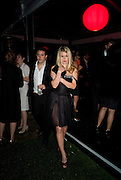 ADAM WAYMOUTH; ALICE EVE. The Summer Party. Hosted by the Serpentine Gallery and CCC Moscow. Serpentine Gallery Pavilion designed by Frank Gehry. Kensington Gdns. London. 9 September 2008.  *** Local Caption *** -DO NOT ARCHIVE-© Copyright Photograph by Dafydd Jones. 248 Clapham Rd. London SW9 0PZ. Tel 0207 820 0771. www.dafjones.com.