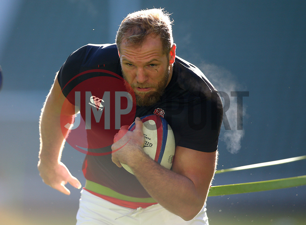 James Haskell of Englandduring an open training session at Twickenham - Mandatory by-line: Robbie Stephenson/JMP - 16/02/2018 - RUGBY - Twickenham Stadium - London, England - England Rugby Open Training Session