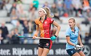 EINDHOVEN - Oranje Rood - Nijmegen.<br /> Hoofdklasse dames<br /> Foto: Strafcorner, Yibbi Jansen.<br /> WORLDSPORTPICS COPYRIGHT FRANK UIJLENBROEK