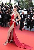 Bella Hamid in Cannes