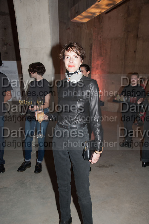 ANNA BLESSMAN, The Tanks at Tate Modern, opening. Tate Modern, Bankside, London, 16 July 2012