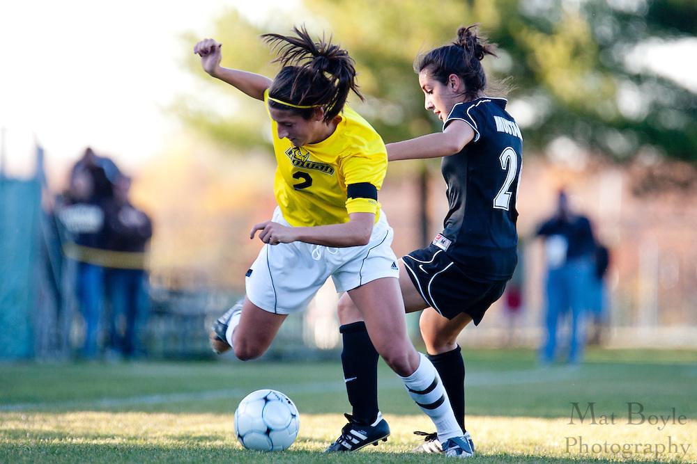 Rowan vs Stevenson during the first round of the NCAA Division 3 Women's Soccer tournament held at Rowan University in Glassboro, NJ on Saturday November 13, 2010.