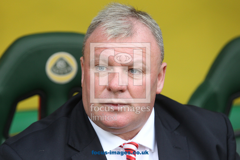 Rotherham United Manager Steve Evans before the Sky Bet Championship match at Carrow Road, Norwich<br /> Picture by Paul Chesterton/Focus Images Ltd +44 7904 640267<br /> 04/10/2014